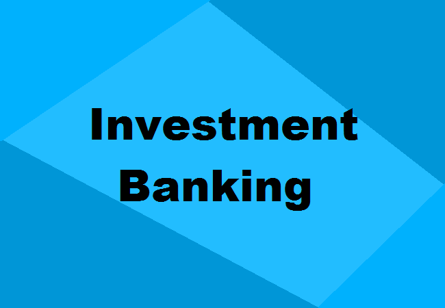 Investment banking certification
