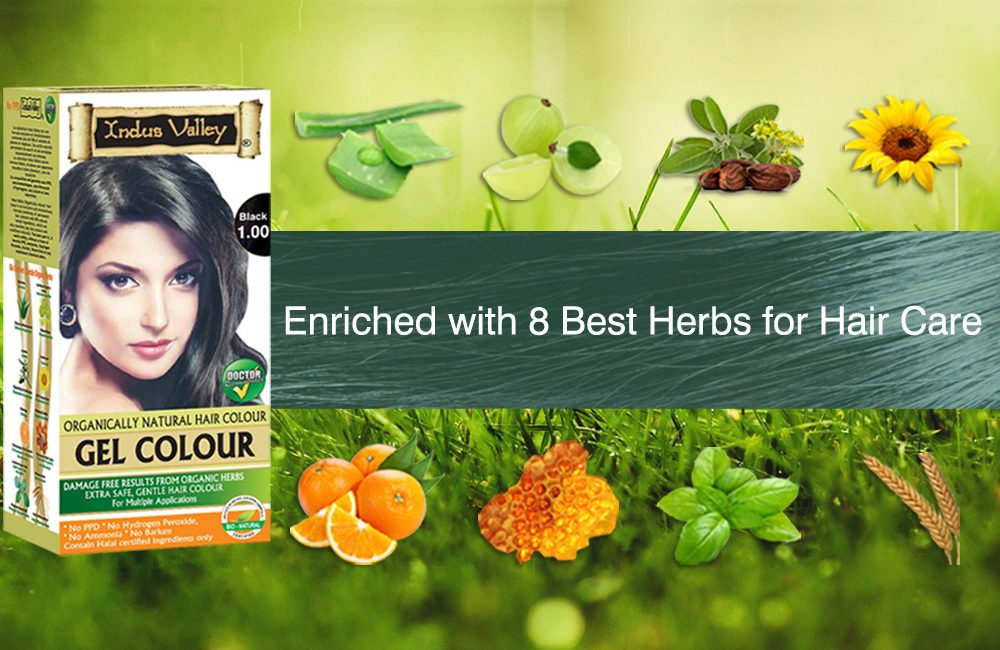 Work with an ayurvedic hair color in the comfort of your home