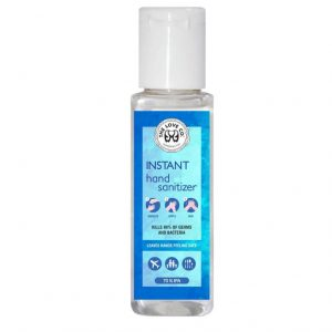 Hand Sanitizer with Alcohol 70% - Hand Sanitizer 60ml India - the Love co.