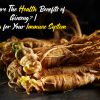 What are The Health Benefits of Ginseng-Ginseng for Your Immune System