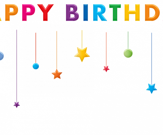 Bring a Smile on Your Children's Faces with Colorful Custom Birthday Banners