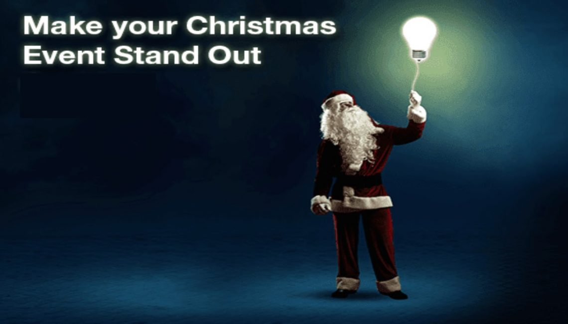 Make your Christmas Event Stand Out